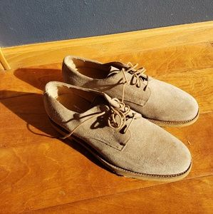 Frye Mens Jim Suede Oxford